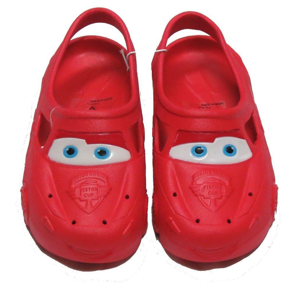 Disney Pixar Cars Clog Shoe Child Size M 7/8 Lightning McQueen New | Disney Cars! | Pinterest | Disney pixar cars Lightning mcqueen and disney Pixar  sc 1 st  Pinterest & Disney Pixar Cars Clog Shoe Child Size M 7/8 Lightning McQueen New ... azcodes.com