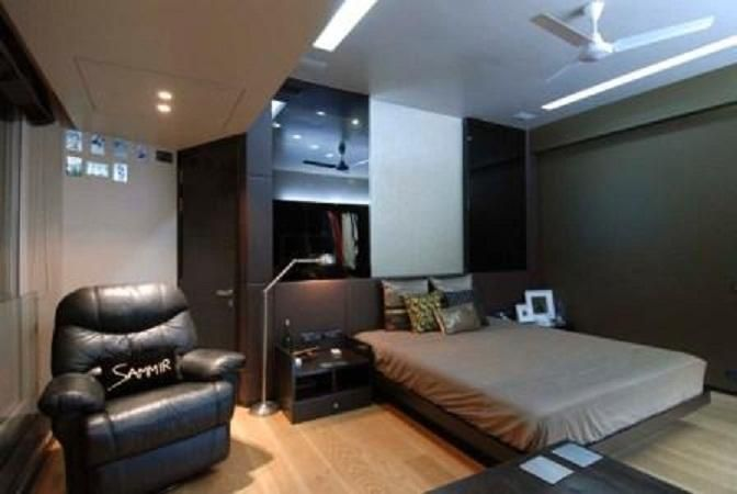Bedroom Decorating Ideas For Men : Modern Bedroom Decorating Ideas For Men  With Sofa, Floor