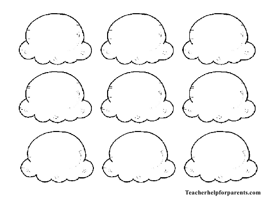Ice Cream Scoops Template Download Printable Pdf Templateroller Ice Cream Coloring Pages Ice Cream Crafts Ice Cream Cone Drawing