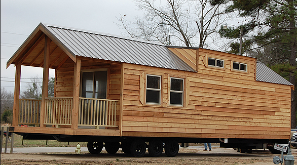 Tiny Home Designs: Cabin On Wheels / Airstream