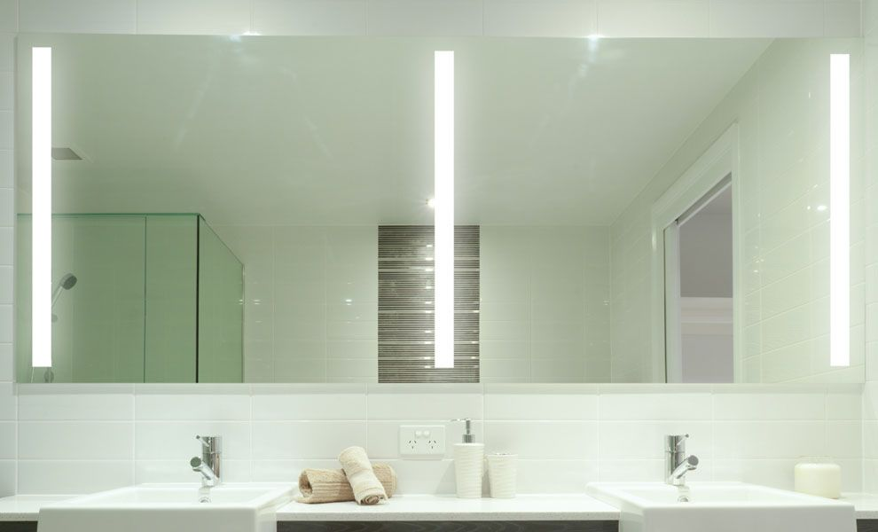 25+ Luxurious Bathroom Mirrors Ideas for Double Vanity | Bathroom ...