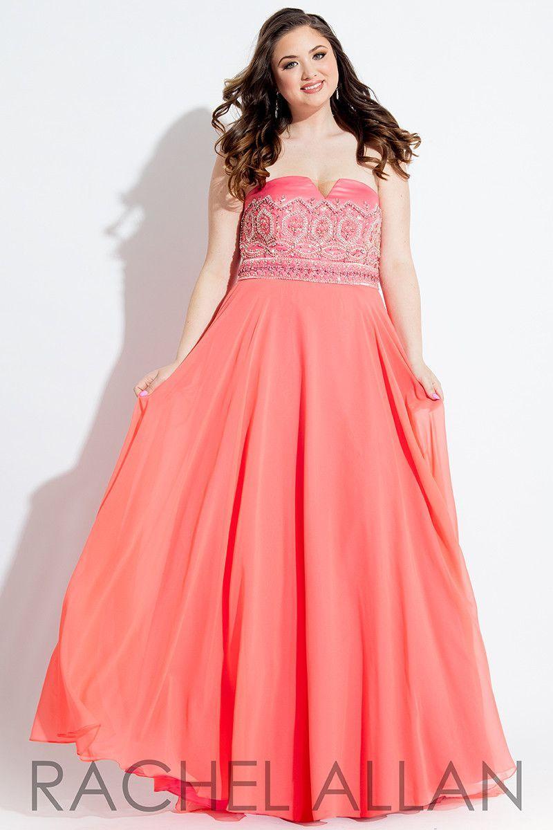 Coral Prom Dresses Plus Size | Huston Fislar Photography