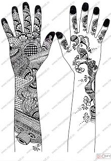 Mehndi Designs For Hands Drawings Arm 2014 Simple For Wedding For
