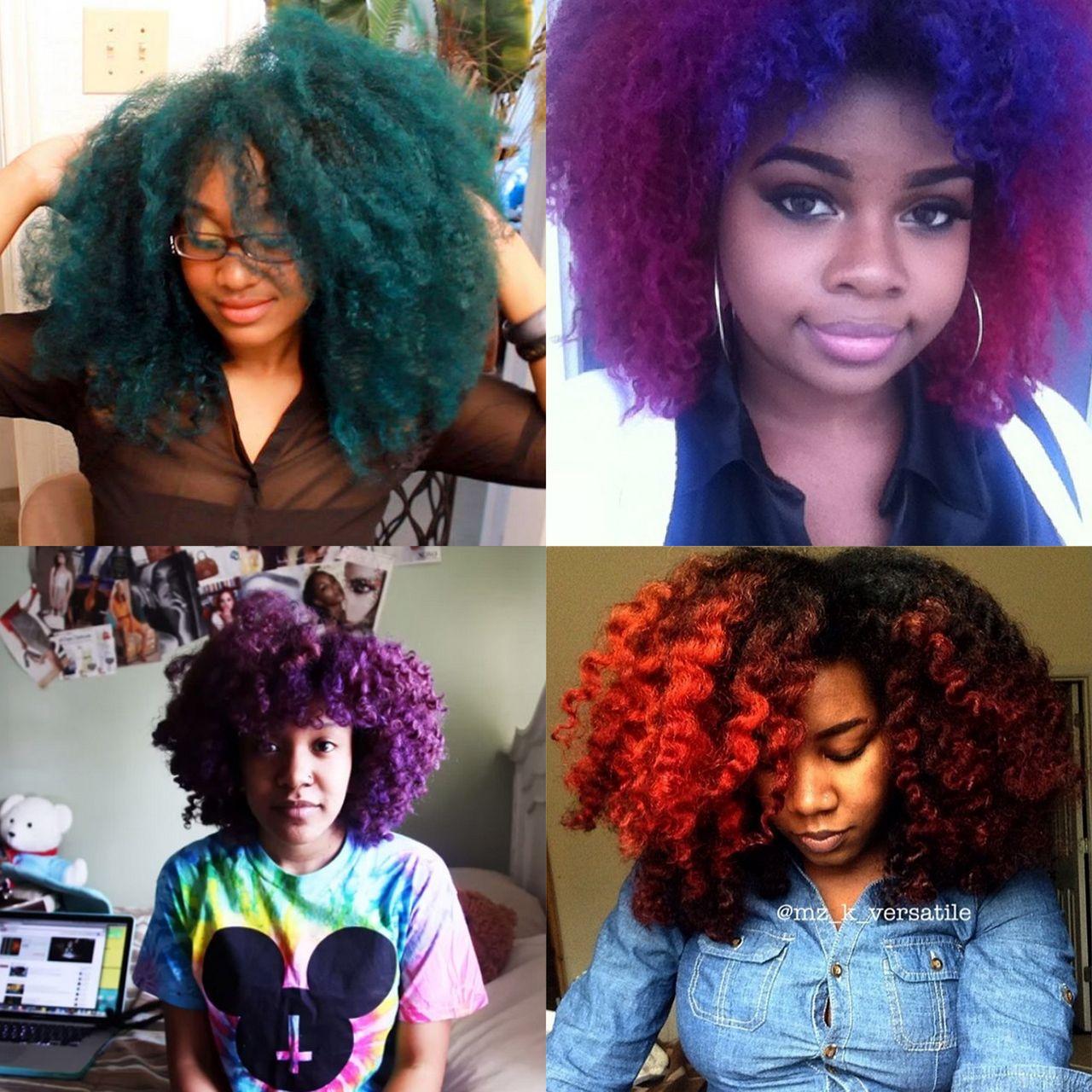 How i colour my hair using natural haircolor youtube - 5 Natural Youtubers Who Rock Vivid Color