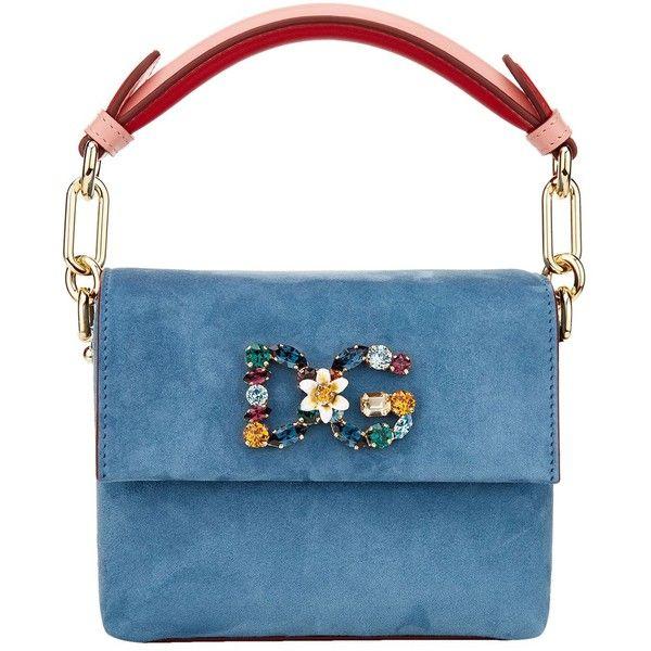 Dolce   Gabbana Mini DG Millennials Suede Bag ( 1 6e9ee4115e349