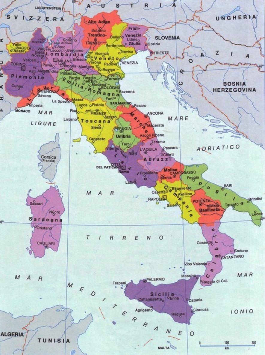 Cartina Geografica Centro Nord Italia.Il Referendum Nel Lombardo Veneto Geografia Mondo Geografia Mappa Dell Italia