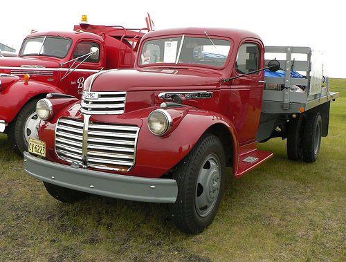 1946 Gmc 2 Ton History Road Car Show At The Reynolds Alberta