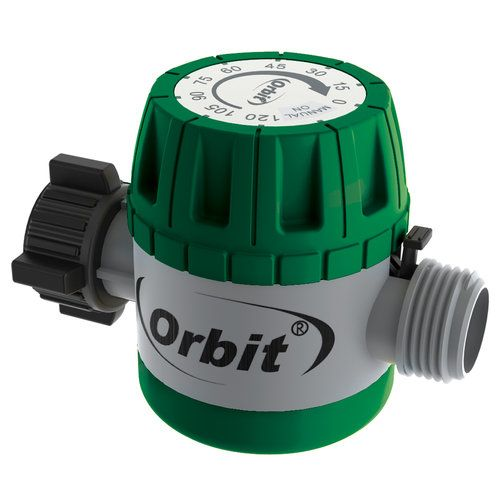 Orbit 62034 Mechanical Watering Timer The Orbit Mechanical Watering Timer  Provides Timed Watering From 15 To 120 Minutes, Giving Your Lawn Just The  Right ...