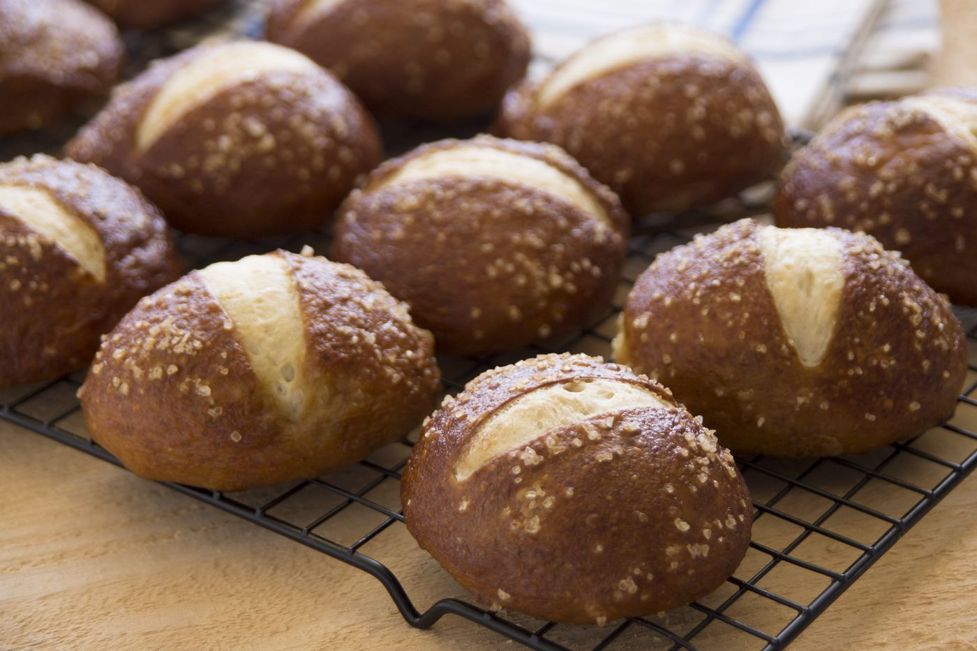 Rhodes Pretzel Rolls Such A Fun Roll To Serve With A Meal Or All