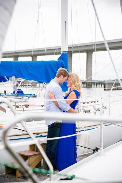 Coastal Charleston SC Engagement Session // Dana Cubbage Weddings // Charleston SC Wedding Photography