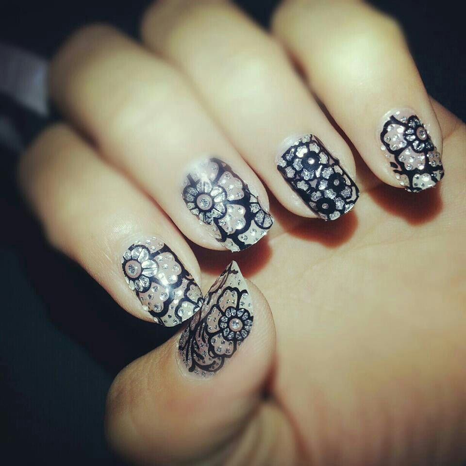 Nails sticker that i bought in CVS | My nail designs | Pinterest ...