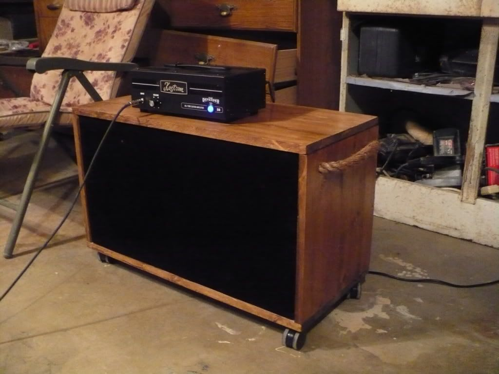 Show off your DIY Guitar amp Speaker Cabs  Harmony