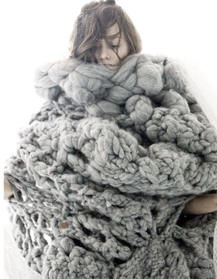 Loves… Nanna van Blaaderen – More or Less | Big knits, Gray and ...
