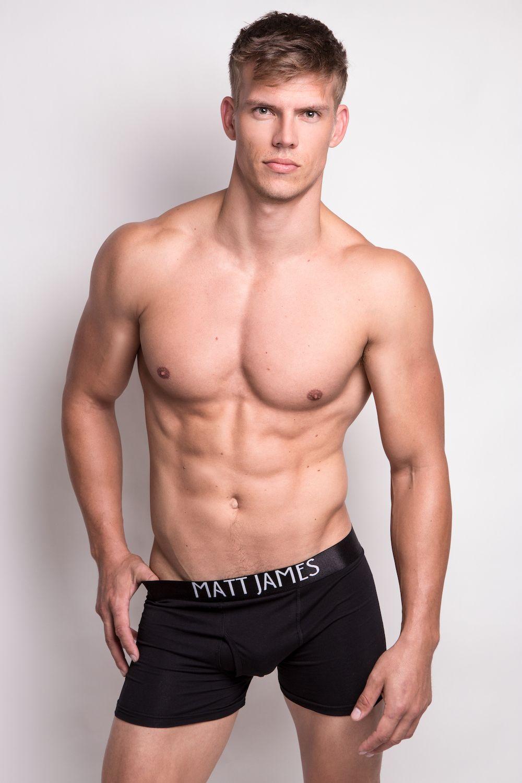 LARGE New Brand ! Matt James Underwear Mens Gym Boxer Brief