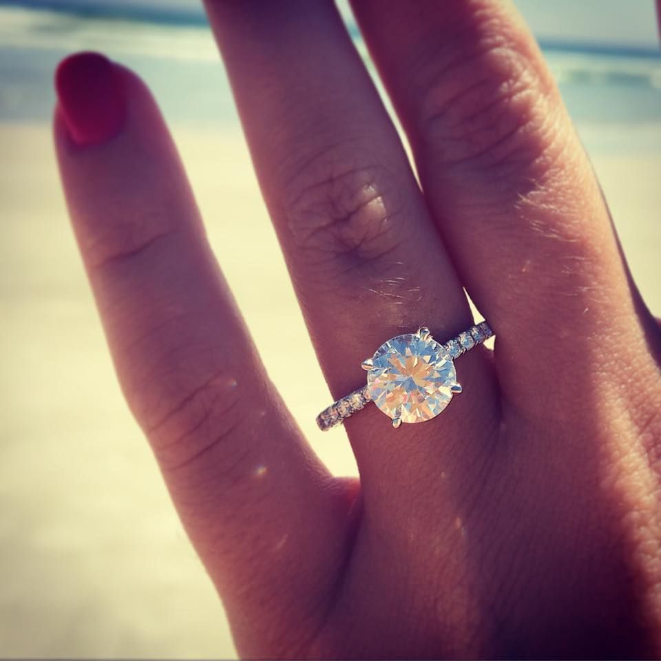 The Perfect AJaffe Diamond Solitaire Engagement Ring