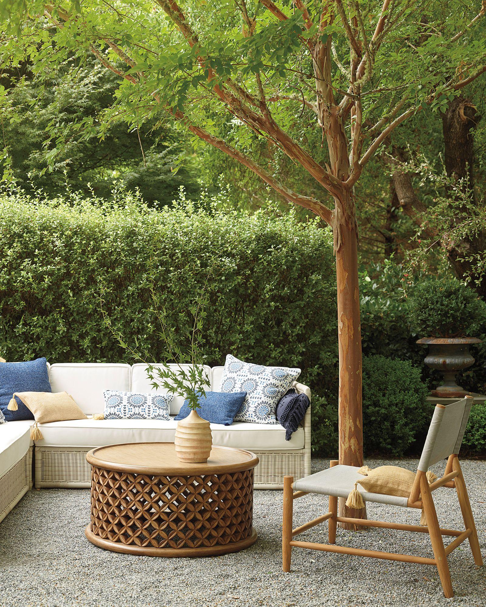 Serena Lily Bamileke Outdoor Coffee Table In 2020 Diy Outdoor