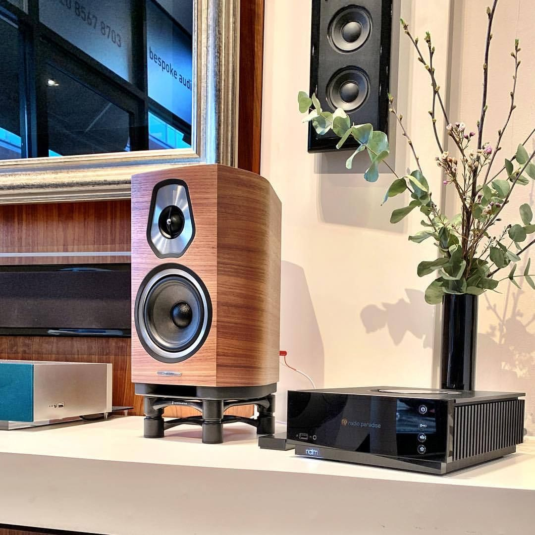Lets try some Sonus Faber Sonetto, through Naim Audios Uniti