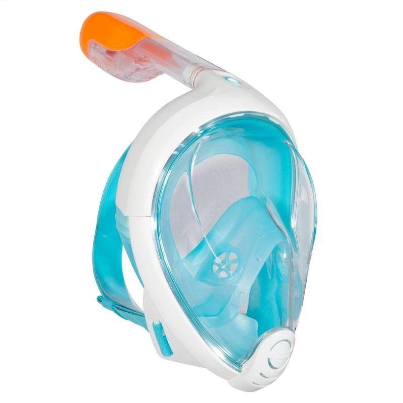 Flambant neuf Masque de snorkeling en surface Easybreath turquoise SUBEA | La  RY26
