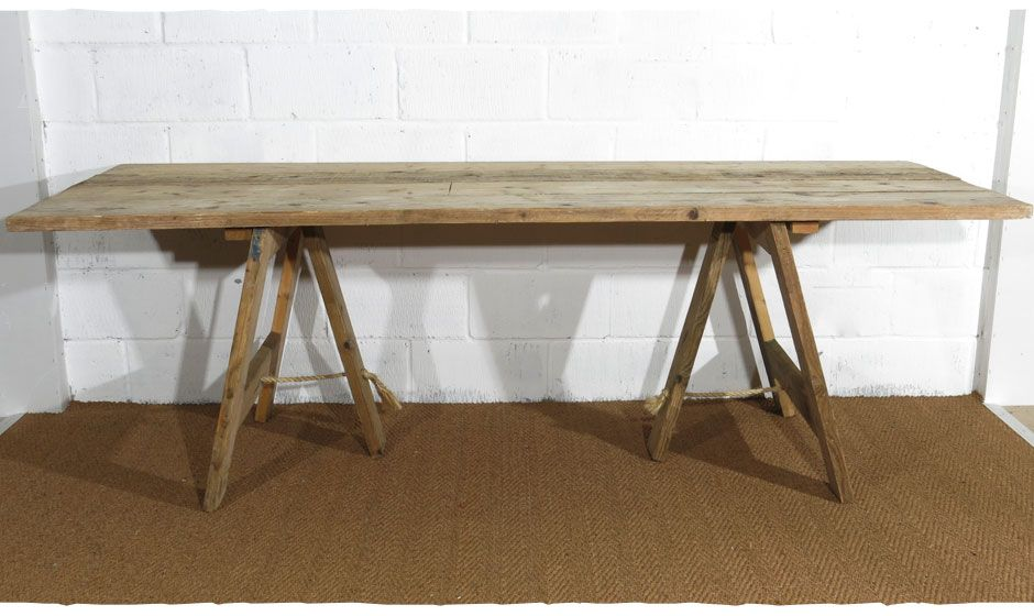 Trestle Tables For Hire Dining Table Rustic Rustic Table Wooden Trestle Table
