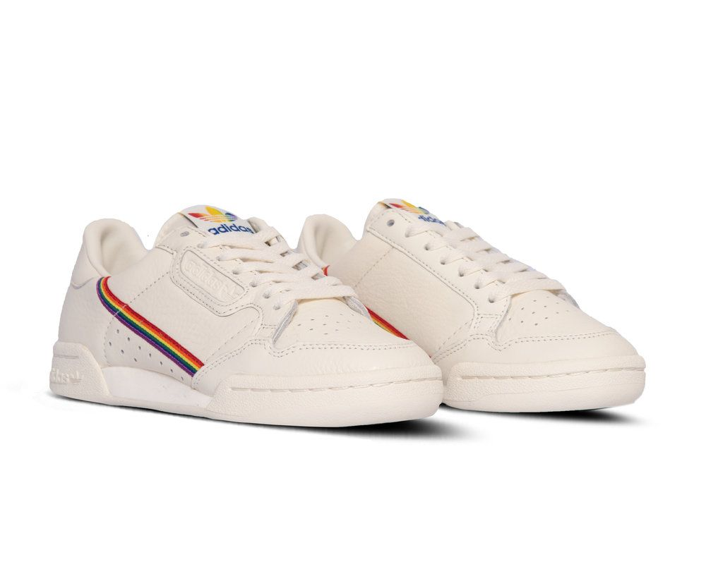 Adidas Continental 80 Pride Off White Off White Ef2318 Sneaker