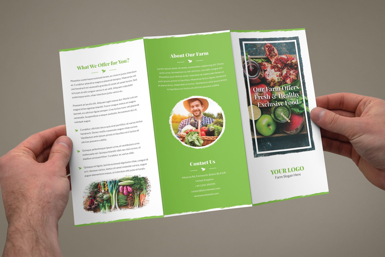 """Popatrz na mój projekt w Behance """"Brochure Organic"""