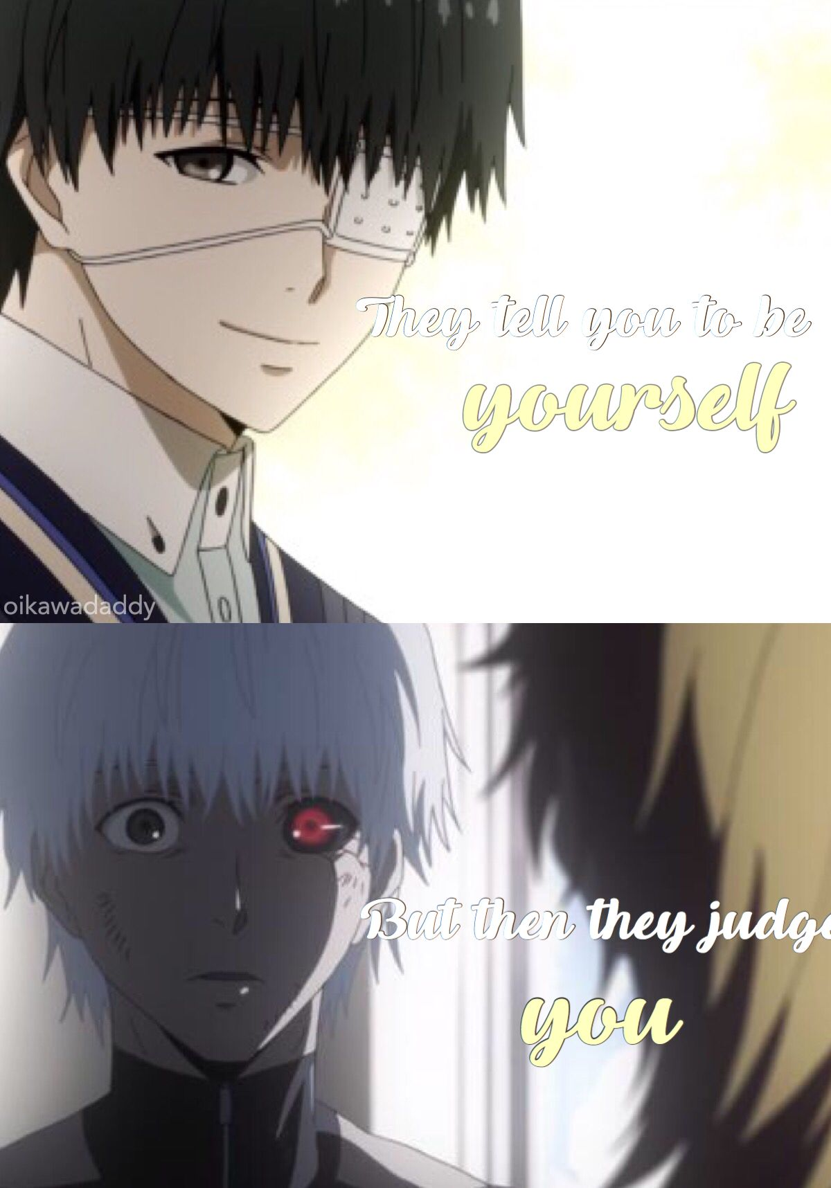 Anime Quote By Me Tokyo Ghoul Quotes Anime Tokyo Ghoul