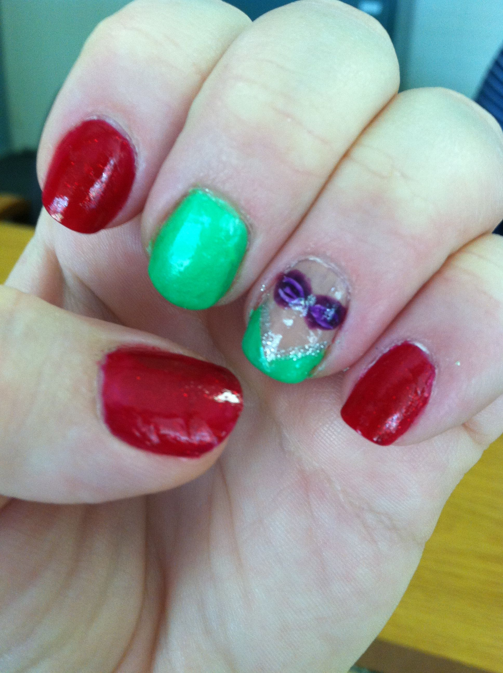 Little Mermaid Nails (9/28/12) | Nails | Pinterest