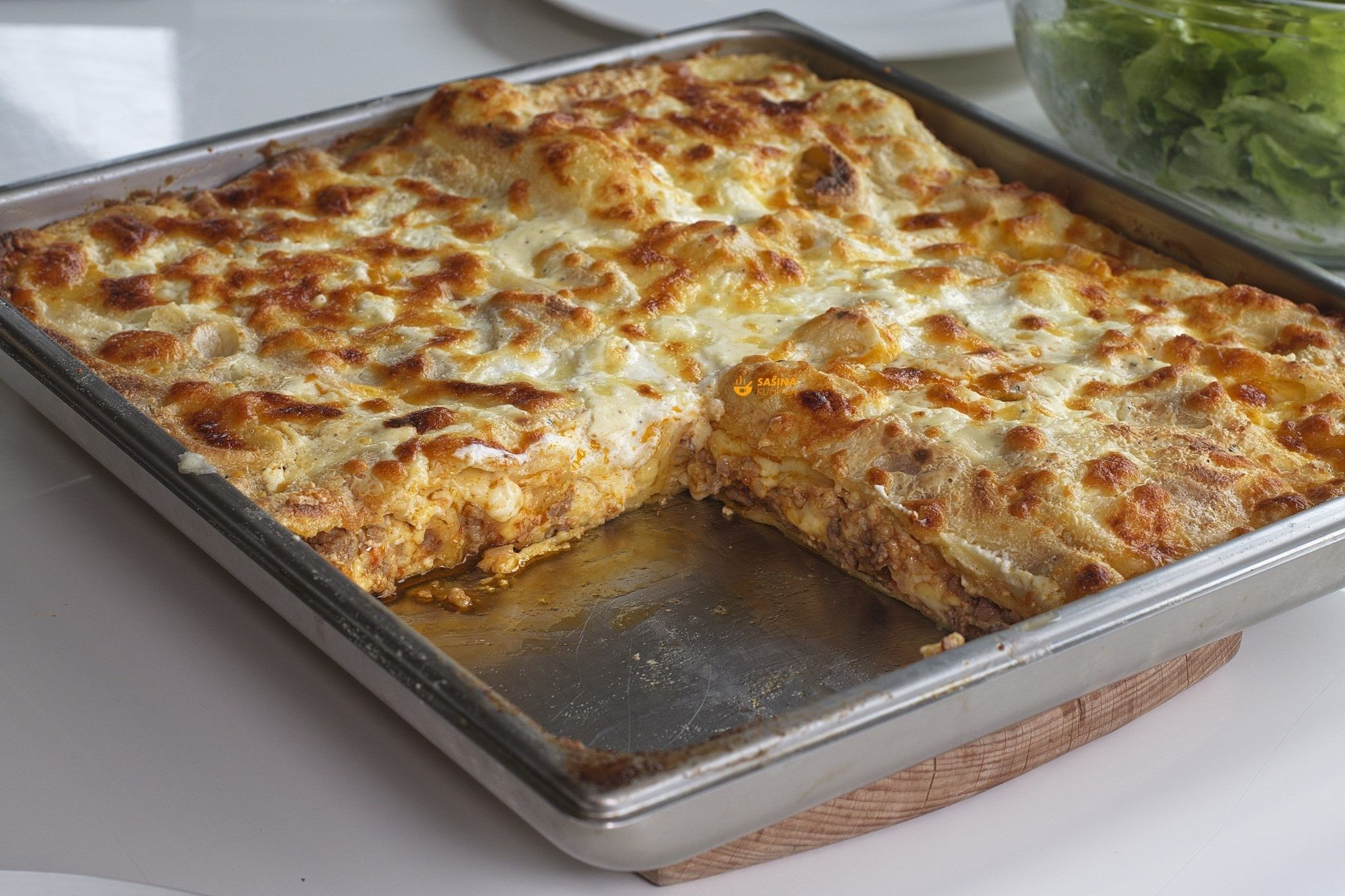 bechamel recept lasagne
