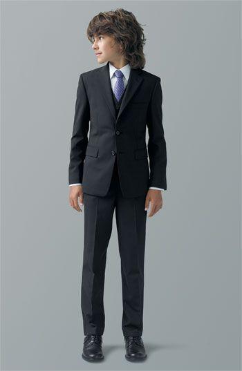 334990364 Joseph Abboud Vest, Blazer & Pants & Nordstrom Dress Shirt (Big Boys) |  Nordstrom