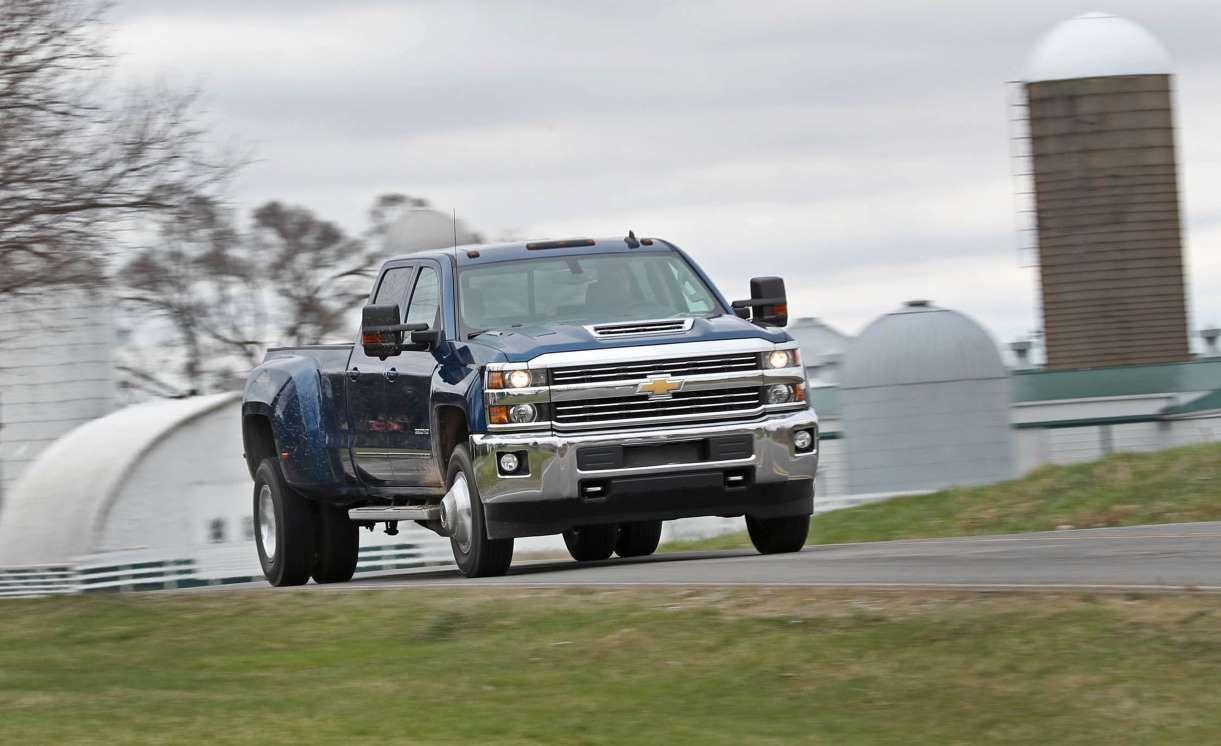 2017 Chevrolet Silverado 3500hd Diesel 4x4 Test Chevrolet