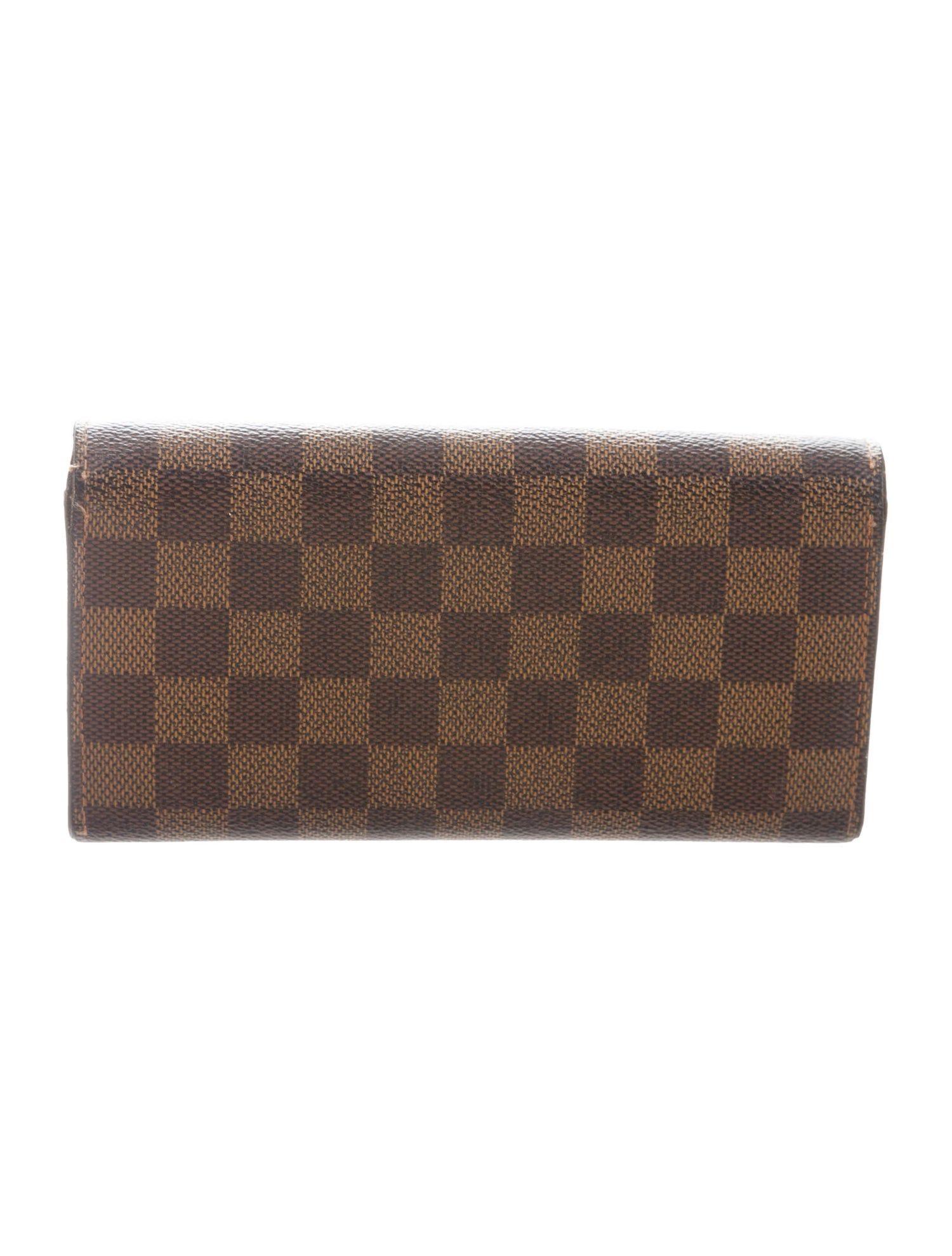 Damier Ebene International Wallet Pattern Louis Vuitton Louis Vuitton Damier