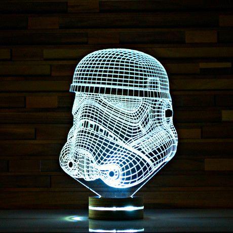 Stormtrooper // Star Wars 3D LED Lamp