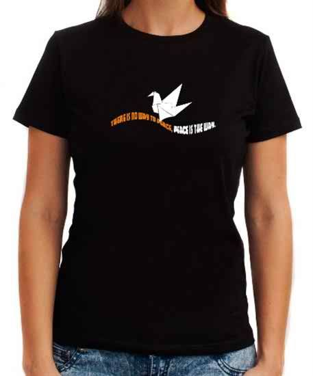 Peace And Love Women T-Shirts