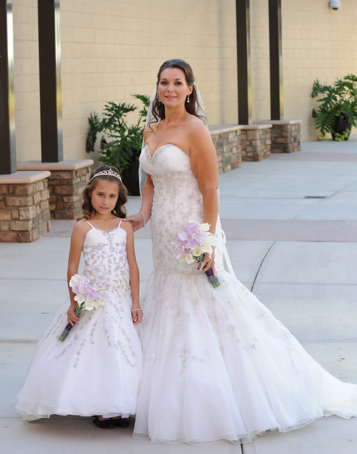 Awesome Matching Wedding And Flower Dresses Check More At Http Svesty