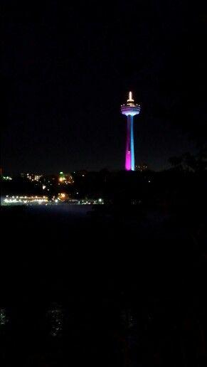 Skylon tower, I love the colors!