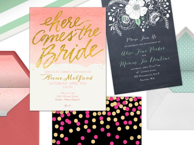 Online Invitation Sites We Love  Reception Engagement And Wedding