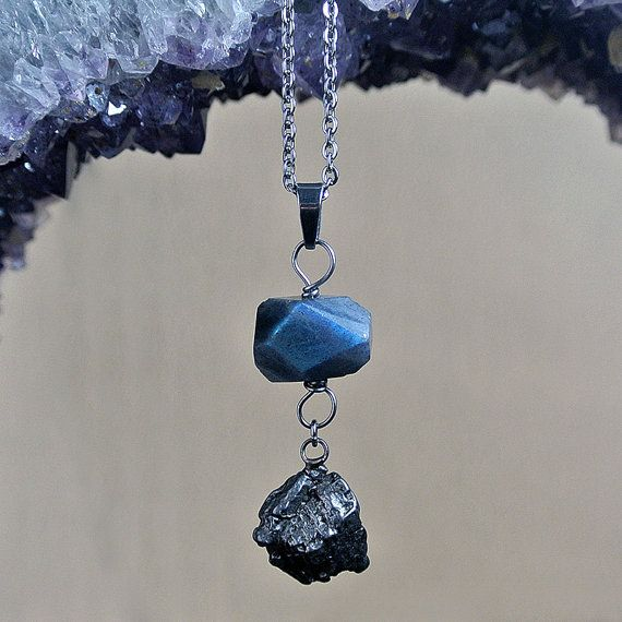 Outer Space Diamond: Meteorite Necklace