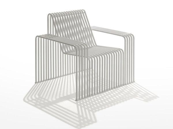 Galvanized Steel Furniture For Urban Outdoor Environments (Design Milk)