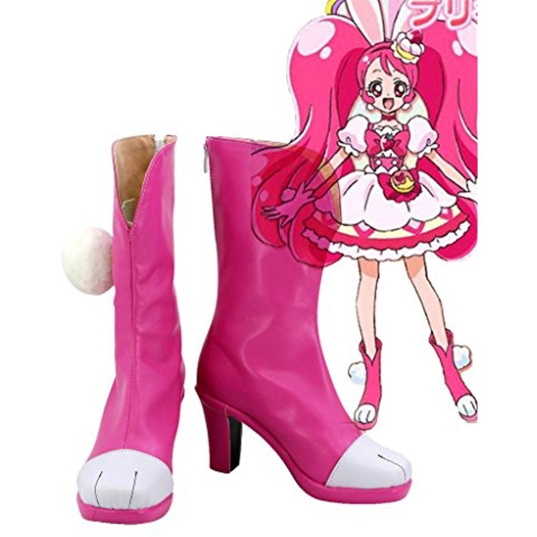 KiraKira Pretty Cure A La Mode Cure Whip Usami Ichika Cosplay Shoes Boots Custom Made