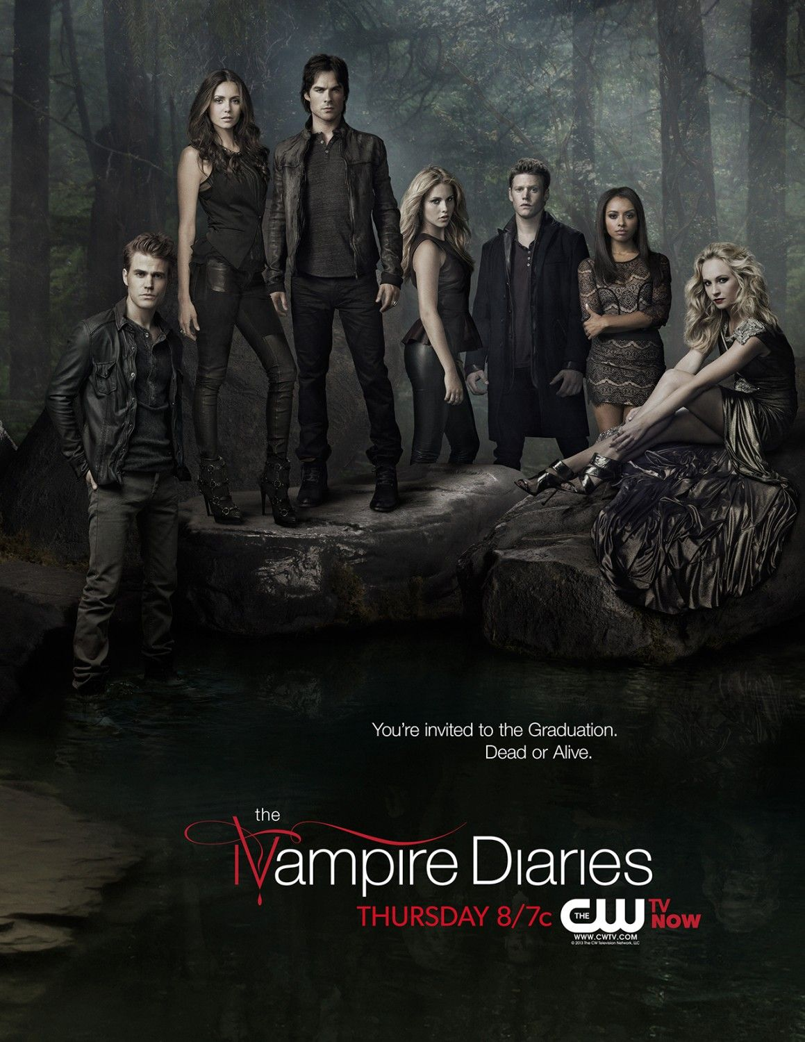 Return To The Main Poster Page For The Vampire Diaries Vampire