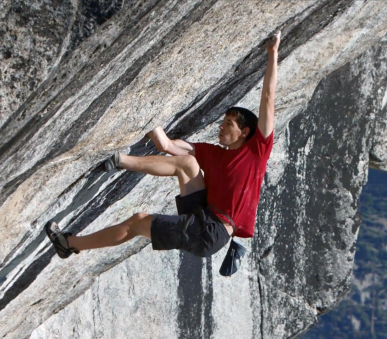 Alex Honnold climbs Heaven
