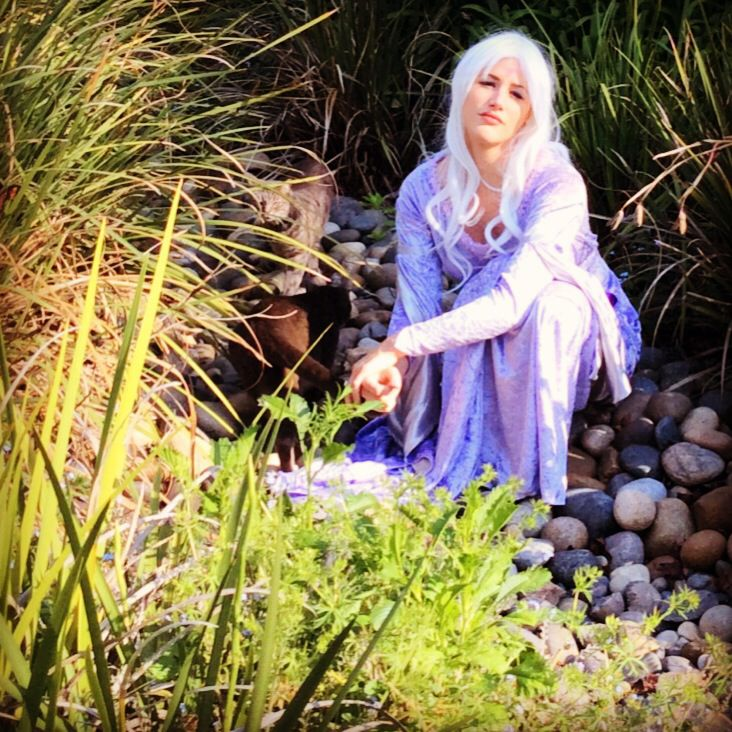 Lady Amalthea. And cats. Cosplay, Lady, Cats