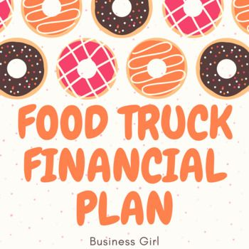Food Truck Financial Plan With Invoice And Purchase Order  High