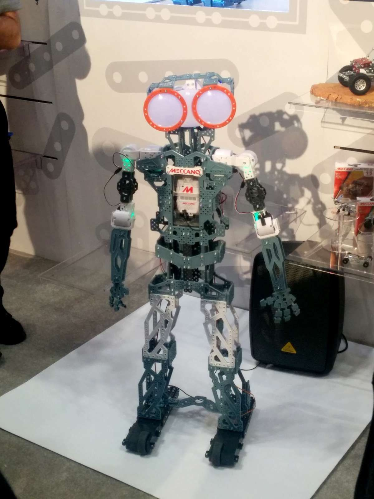 There s something charming about a doe eyed humanoid robot Meet