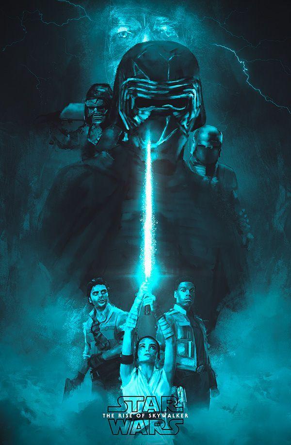 Star Wars The Rise Of Skywalker Star Wars The Rise Of Skywalker On Behance Star Wars Poster Star Wars Images Star Wars Art