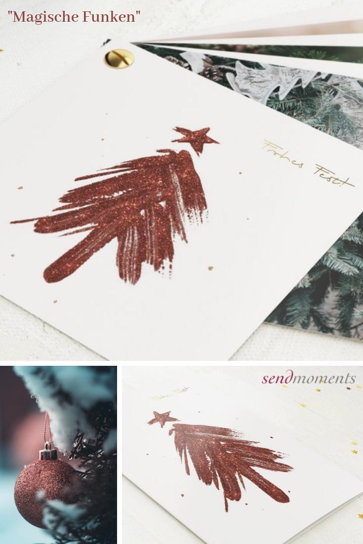 Magische Funken Vertikale Klappkarte 120x170 Bordeaux Mit Bildern Weihnachtskarten Karten Weihnachtsgrusse