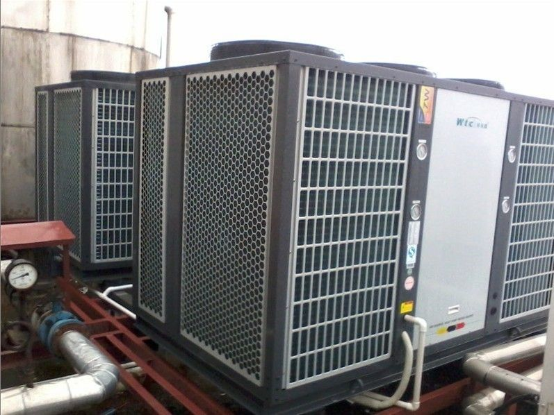 Huge Heat Pump System Works Terrifically