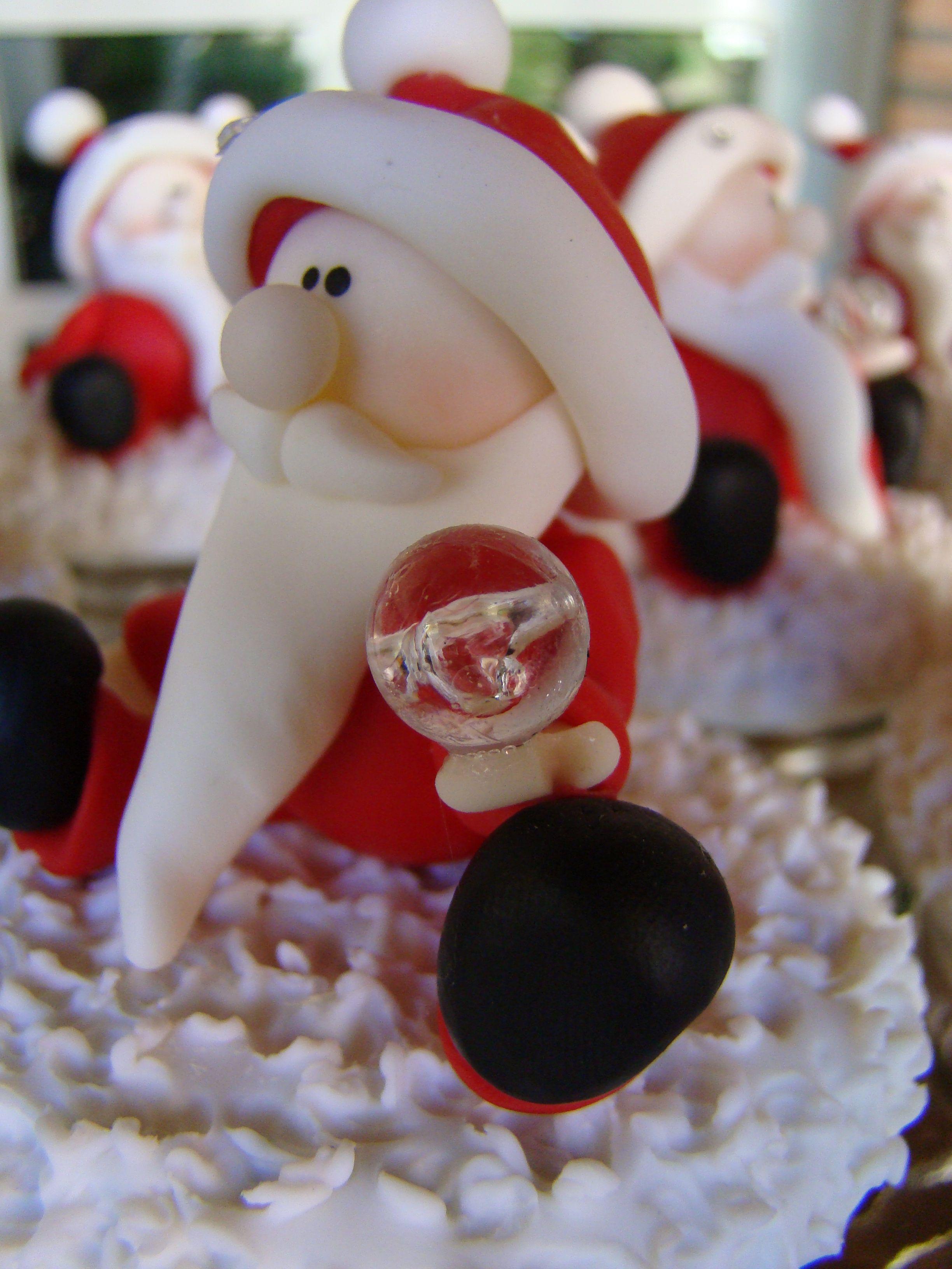 Papa noel porcelana fria navidad en porcelana fria for Adornos navidenos en porcelana fria utilisima