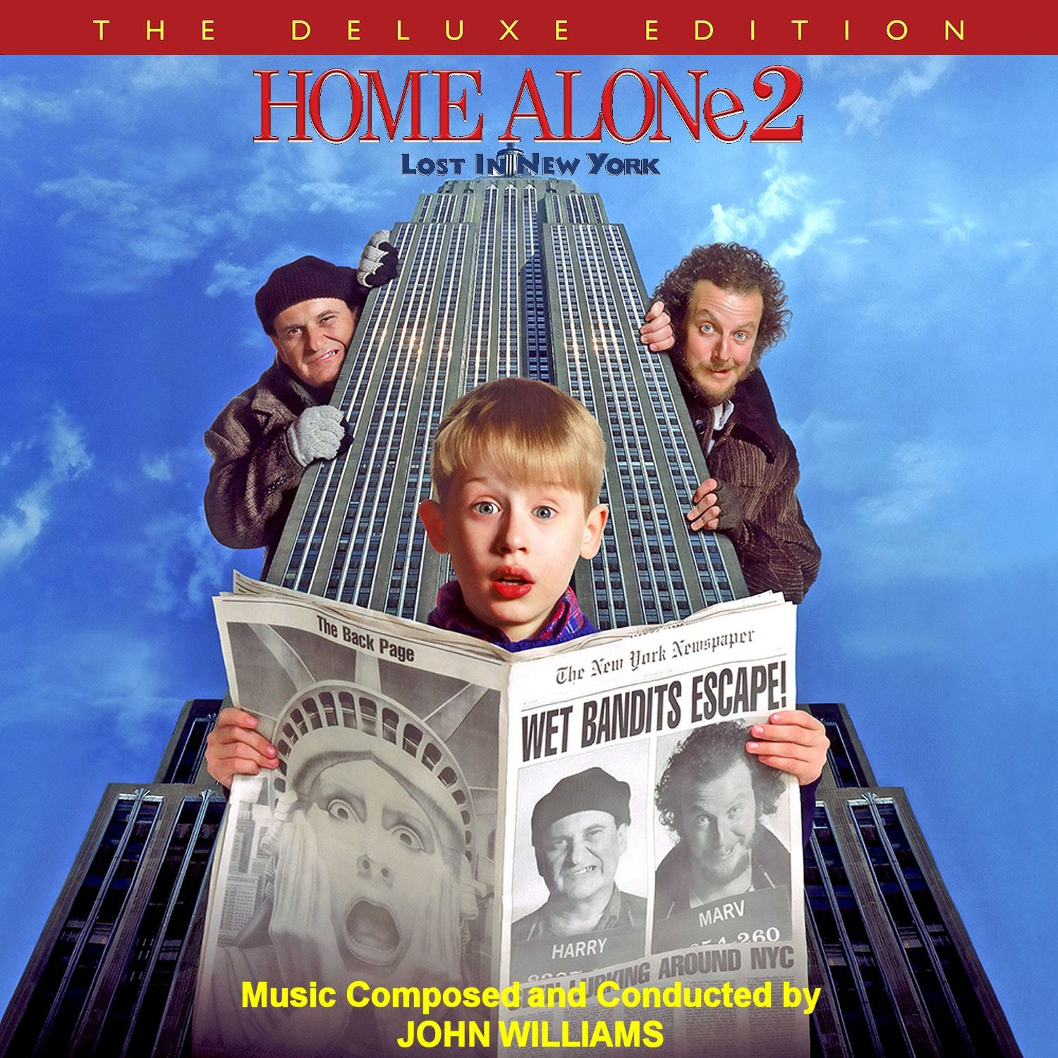 Home Alone 2 Lost In New York Custom Soundtrack And Score Cd Covers In 2019 Home Alone