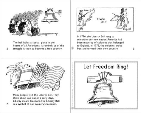 Let Freedom Ring The Liberty Bell Mini Book Printables